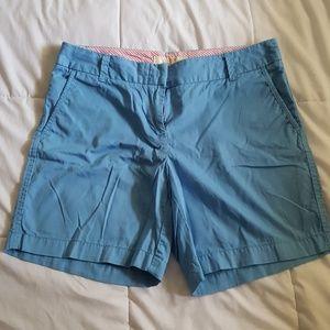 J Crew Chino Shorts Light Blue